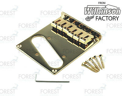 BT-001, Telecaster® modern style bridge, gold