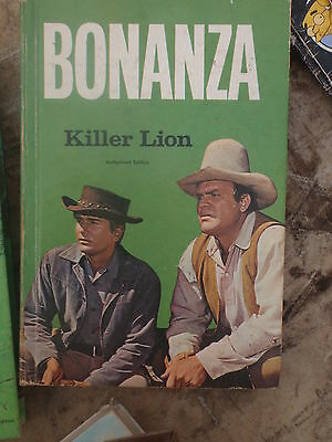 "Bonanza  , Cartwrights  -   3"" Books -  Hard Covers -"