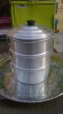 Heart Patients Oil Free Aluminum Steamer 2 Strainer/tamale Steamer Low Price