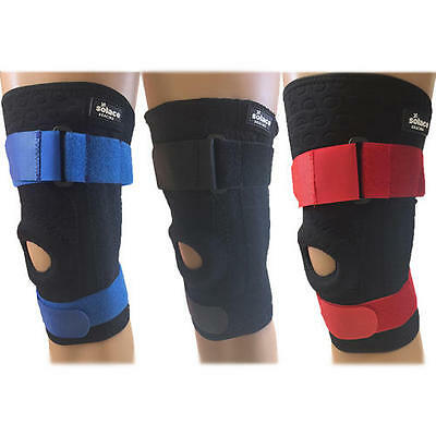 Solace Bracing Stomatex Adjustable Patella Cycling Knee Stability Injury Support