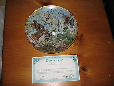 """8"""" Collector Plate by Owen J. Gromme, Double Flush"""