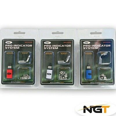 Kit 3 Swinger Scimmiette  Ngt 3 Colori Diversi Carpfishing Feeder Pesca