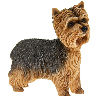 Yorkshire Terrier Dog Ornament - Brand New in Box Standing Yorkie Dog Figure