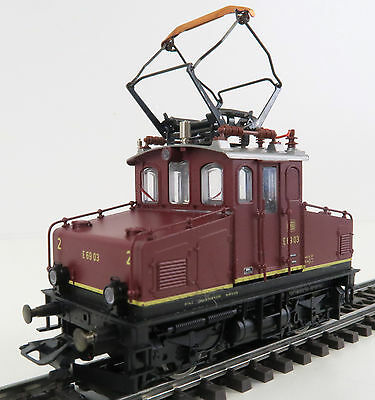 Märklin 37477 E-Lok E69 03 der DB, Vollmetall, Digital OVP, TOP ! (SJ029)
