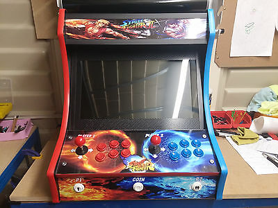 "Bartop Arcade Machine,jamma/raspberry Pi 20"" Led Screen,2 Player 6 Button A Side"