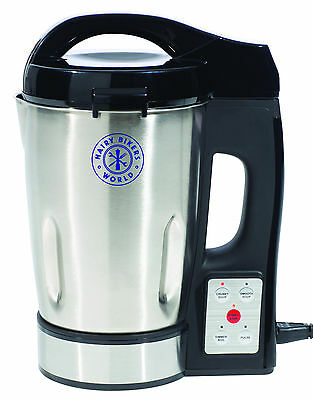 Hairy Bikers Stainless Steel Reliable Robust Healthy Soup Maker Machine & Juicer