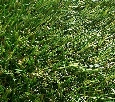 40mm  High Density Luxury Artificial Grass Lawn 4m x 2m Astro Turf Top Quality