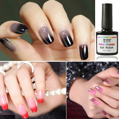 Nail Polish Temperature Change Nail Color UV Gel Polish Gradient Nail Gel 10ml