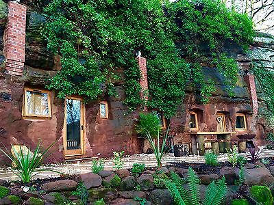 The Rockhouse Retreat, 2 night romantic cave escape seen on 'Grand Designs'