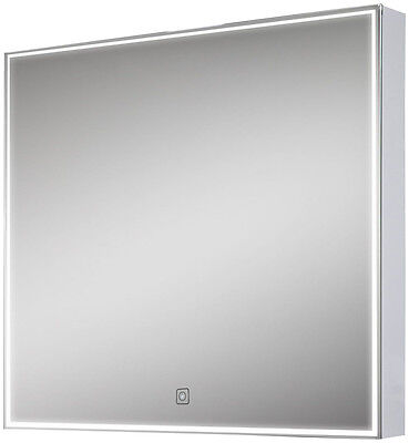 LED Square Bathroom Mirror with Demister