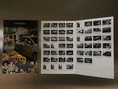 Chrysler Ypsilon Press Pack - Press Information CD and Booklet - Very rare