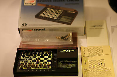 Rare Vintage Scisys Chess Computer Acetonic Made In Hong Kong 1983