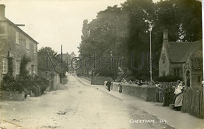 RA572 Early RP POSTCARD Greetham (near Oakham/Uppingham) - Posted 1915