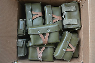 RARE!! Vintage Chinese Mosin Nagant Type 53 Leather Ammo Pouch w Stamp 1958