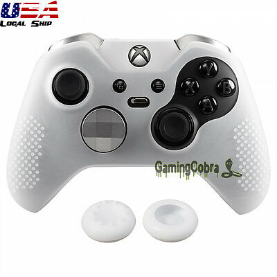 Semi-transparent Clear Soft Silicone Case Thumb for Xbox One Elite Controller