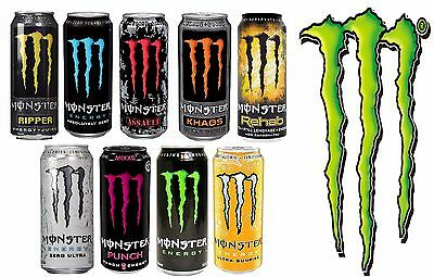 Monster Energy Drinks 500ml in WHOLESALE Prices Available in Pack of 12