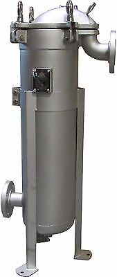 """Prm #2 Top Loading Bag Filter Housing 304 Ss 2"""" Flange In/out 300 Psi Nib"""