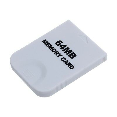 64MB 4M Memory Card For Nintendo Wii Gamecube Game Cube GC Console White BF