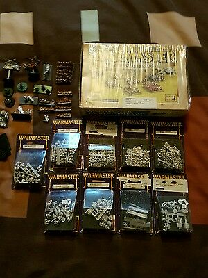 Warmaster- Large Dwarf Army- mostly Blisters