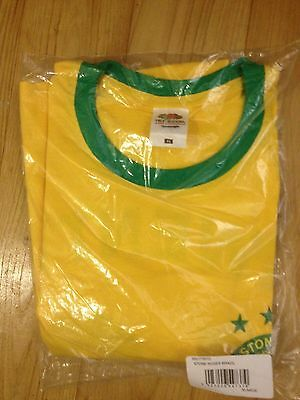 The Stone Roses - rare OFFICIAL 2012 Brazil shirt X/Large, Reni, Wembley/Hampden