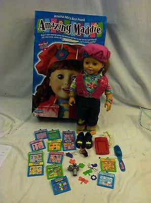 Amazing Maddie Doll By Playmates 2000 With Accessories IN ORIGINAL BOX