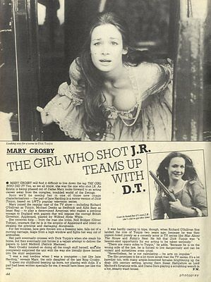 Mary Crosby : The Girl Who Shot J.r. Article & Picture(S)