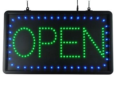 "LED Sign Ultra Bright Open Large Display Neon 22"" x 13"" Indoor Use"