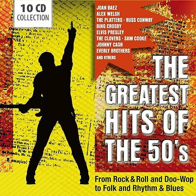 Various - Greatest Hits Of The 50's The NEW CD