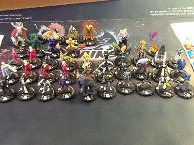 Heroclix Marvel Giant Sized X-men Lot Uncommons Commons And Some Rares