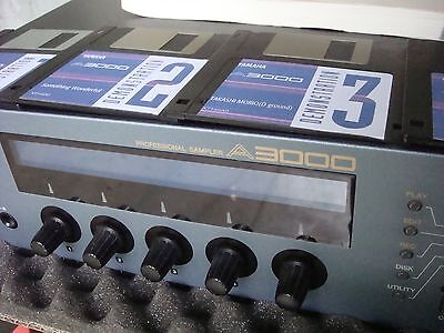 SAMPLER YAMAHA A 3000 V2 Internal SCSI 4,5 GB HD 128 MB Ram CD ROM Factory Disks