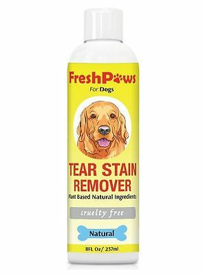 Tear Stain Remover Dog Cat Pet New Clean Eyes Dogs Cats Natural FREE SHIPPING