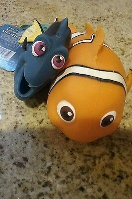 Lifelike Finding Nemo Imperial Toy Dory And Nemo  Stretchy Squishy Toy