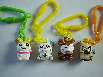 Hamtaro The Hamster Mini Figurines Pendants Set Anime Manga Figures Collectibles
