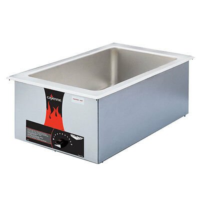 Vollrath 72001 Cayenne 2001 Drop-In Food Warmer Full Size