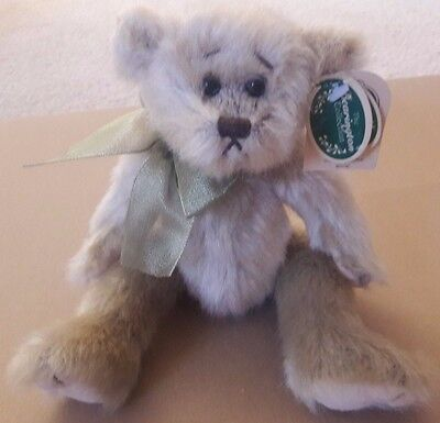 """The Bearington Collection Plush Bear CHIPPER 2002 Jointed 10"""" Collectible Series"""