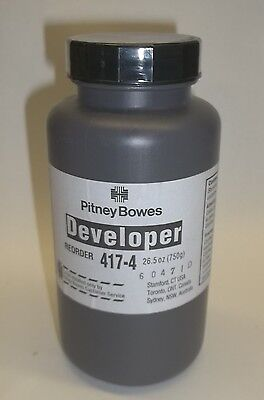 Pitney Bowes Genuine OEM Printer Developer 417-4 26.5oz New