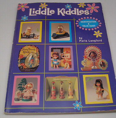 Liddle Kiddles Identification & Value Guide Book by Paris Langford Used 1996