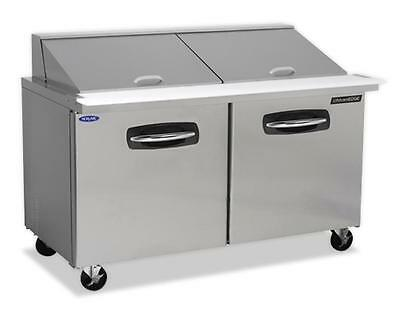 "Nor-Lake 60-3/8"" Mega Top Refrigerated Counter Sandwich or Salad Unit"
