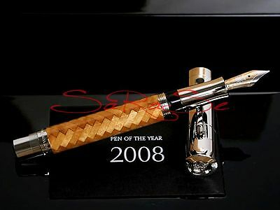 Faber Castell Pen Of Year 2008 Indischem Satin-Holz Limited Edition