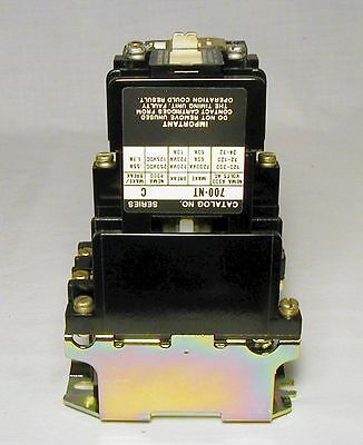 Allen Bradley, A-B 700-NT600A1 AC Control Relay, NOS. Still new in the box!