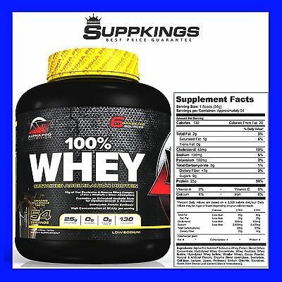 Alpha Pro Nutrition 100% Whey Protein // Whey Protein Blend // Wpi // Wpc