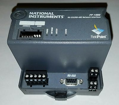National Instruments FieldPoint FP-1000 - RS-232 & RS-485 Network Interface