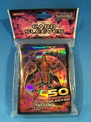 Yu-Gi-Oh ( SHIEN & LEGENDARY SIX SAMURAI ) 50 Sleeves Official Konami Product