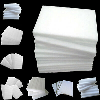 Fantastic White EPE Pearl Foam Boards DIY Crafts Packing Styrofoam Sheets FS945