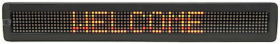 NEW 66cm MULTICOLOUR LED MOVING BOARD MESSAGE DISPLAY SCROLLING SHOP SIGN DJ