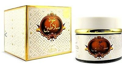 Oudh Salateen by Nabeel burning bakhoor / incense/ fragrence 60 g wooden
