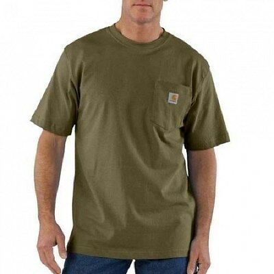 12 New Carhartt Pocket T-Shirts Embroidered Free4Ur Company Business