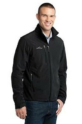Brand New Eddie Bauer Soft Shell Jacket EmbroideredFree4Ur Business WBackDesign