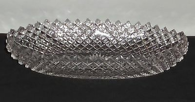"""Westmoreland ENGLISH HOBNAIL CRYSTAL *8"""" OVAL PICKLE*EH63"""