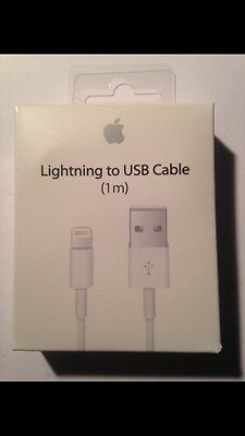 Cable Original Neuf Apple Chargeur Lightning Usb iPhone 5 /6 / 7 / 7+